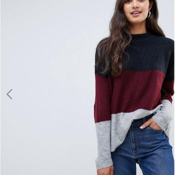 Brave Soul   Mock Neck Sweater